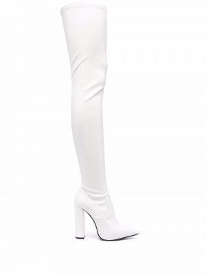 Белые резиновые сапоги Le Silla