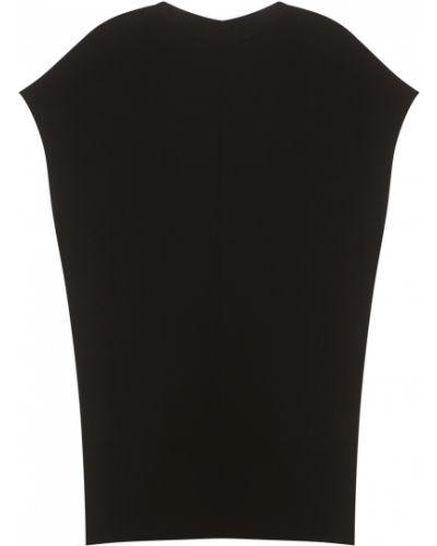 Черное платье с декольте Chapurin