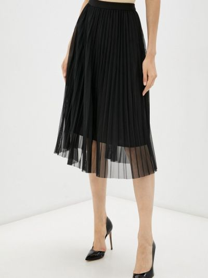 Плиссированная юбка - черная Miss Gabby