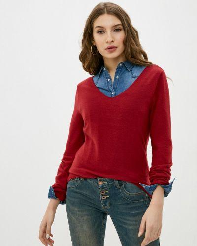 Красный пуловер Stitch & Soul