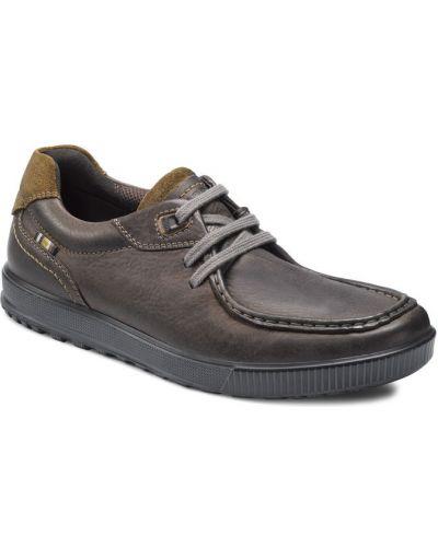 Кожаные полуботинки на шнурках Ecco
