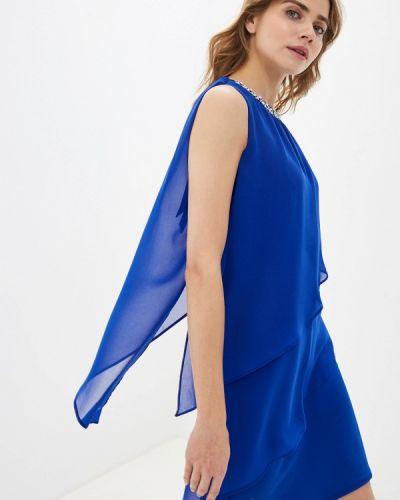 Вечернее платье осеннее синее Wallis