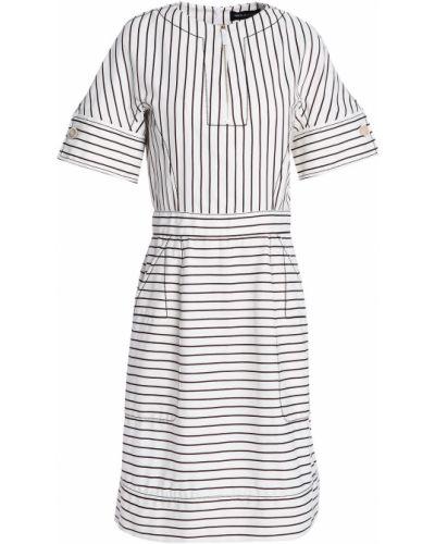 Хлопковое платье мини Piazza Sempione