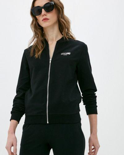 Черная олимпийка Moschino Couture