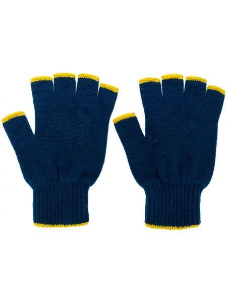 Rękawiczki bez palców niebieski Pringle Of Scotland