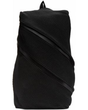Кожаный рюкзак текстильный на молнии Pleats Please Issey Miyake
