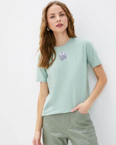 С рукавами зеленая футболка Akhmadullina Dreams