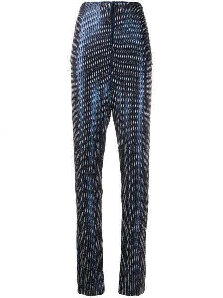 Прямые брюки с воротником Palomo Spain