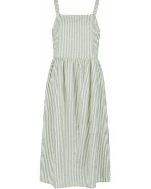 Платье макси в полоску платье-сарафан Ichi