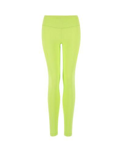 Зеленые облегающие брюки Craft