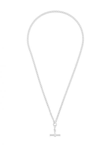 Серебряное ожерелье с подвесками Bottega Veneta