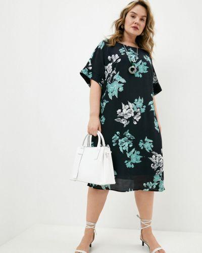Повседневное черное платье Elena Miro