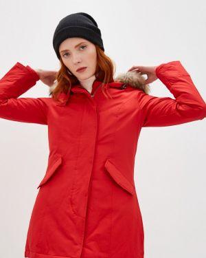 Зимняя куртка осенняя красная Canadian