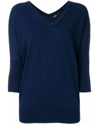 Пуловер с V-образным вырезом свободного кроя Steffen Schraut