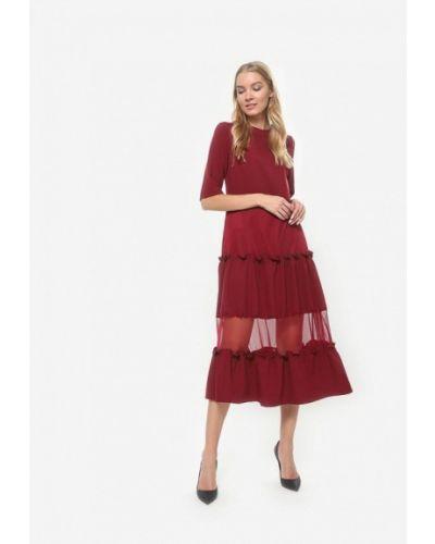 Вечернее платье - бордовое Tutto Bene
