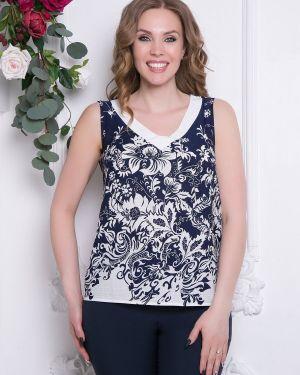 Блузка без рукавов с V-образным вырезом прямая Diolche