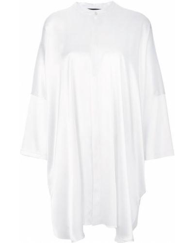 Платье рубашка - белое Baja East