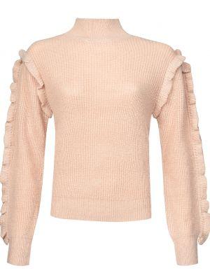 Розовый свитер из мохера Silvian Heach