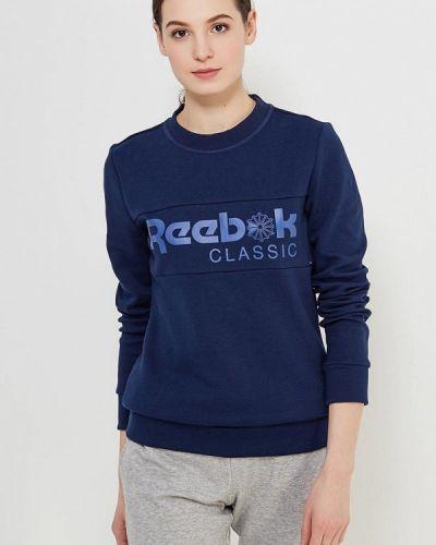 Синяя толстовка Reebok Classics