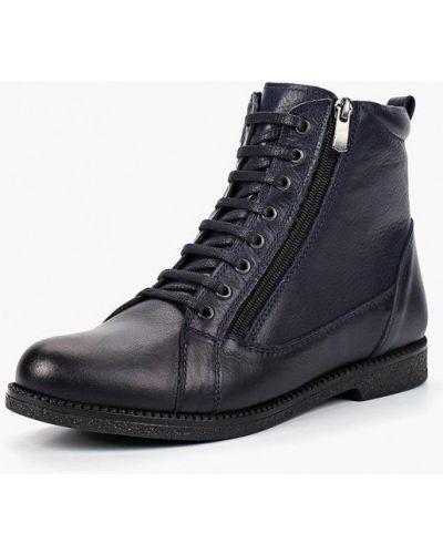 Кожаные ботинки осенние кожаные Alessio Nesca