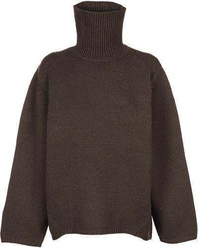 Brązowy sweter Toteme