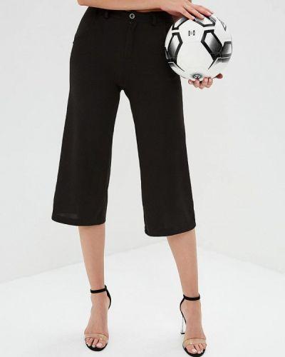 Черные расклешенные брюки Naanaa