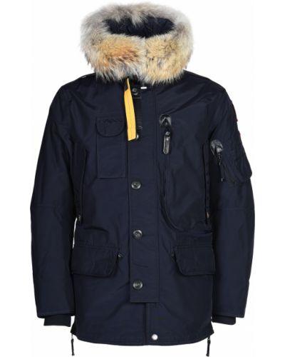 Шерстяная куртка - синяя Parajumpers