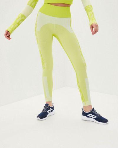 Желтые леггинсы Adidas By Stella Mccartney
