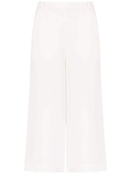 Прямые белые брюки Gloria Coelho
