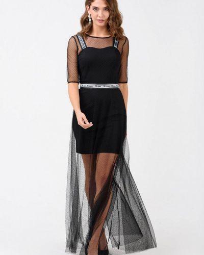 Вечернее платье - черное Ricamare