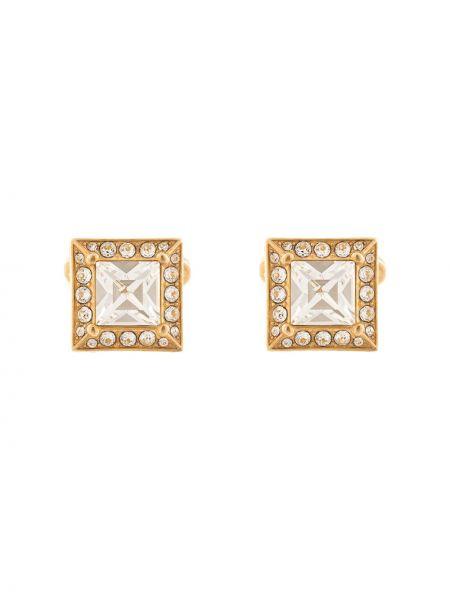 Запонки из золота золотой Dolce & Gabbana