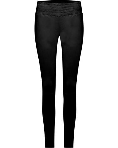 Czarne spodnie materiałowe Ibana