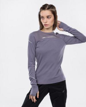 Спортивная футболка фиолетовый приталенная Asics