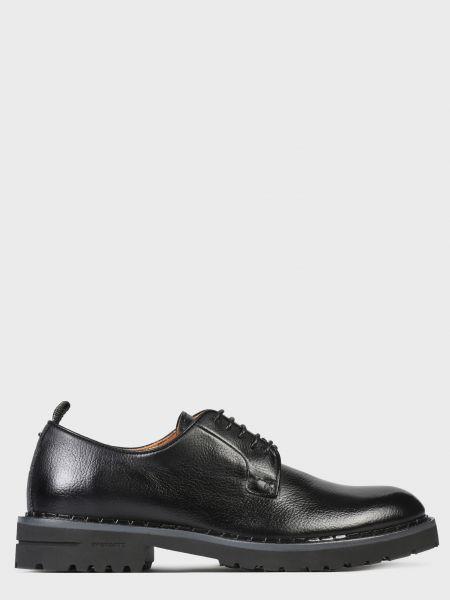 Кожаные туфли - черные Brimarts