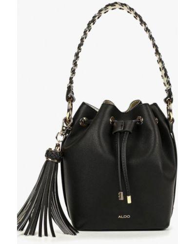 Кожаный сумка черный 2019 Aldo