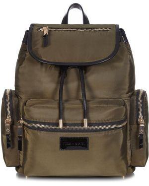 Zielony plecak z nylonu Tiba + Marl