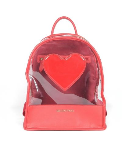 Czerwony plecak Valentino By Mario Valentino
