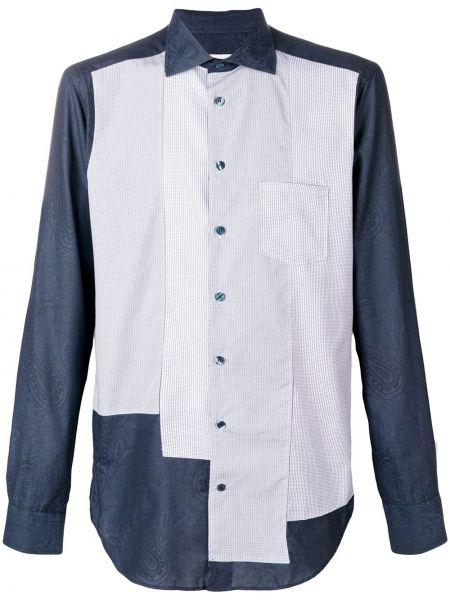 Koszula z długim rękawem klasyczna niejednolita całość Etro