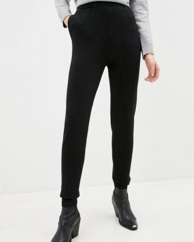 Повседневные черные брюки снежная королева