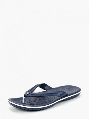 Пляжные шлепанцы синий Crocs