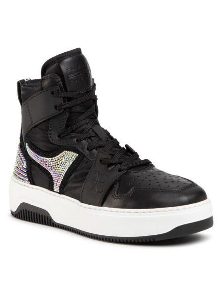 Czarne sneakersy Fabi