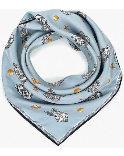 Голубой платок итальянский Furla