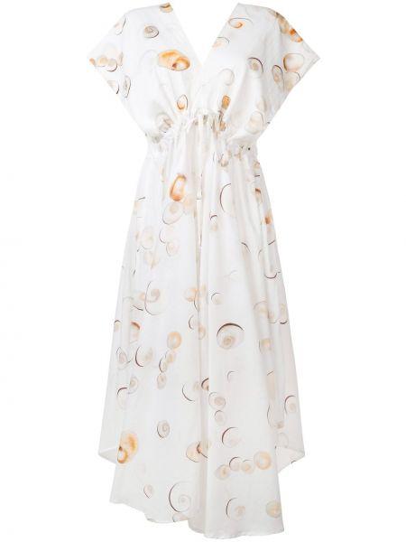Расклешенное платье миди на молнии Tara Matthews