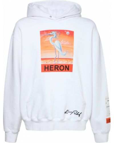 Bluza z kapturem z haftem z kapturem Heron Preston