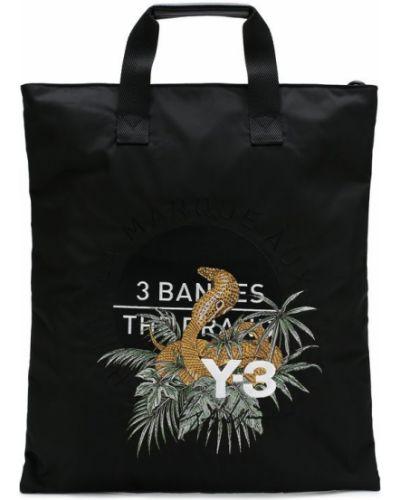 Черная сумка шоппер Y-3