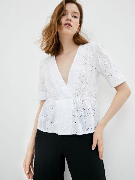 Блузка кружевная белая Perfect J