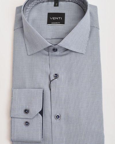 Хлопковая рубашка с длинными рукавами с воротником Venti