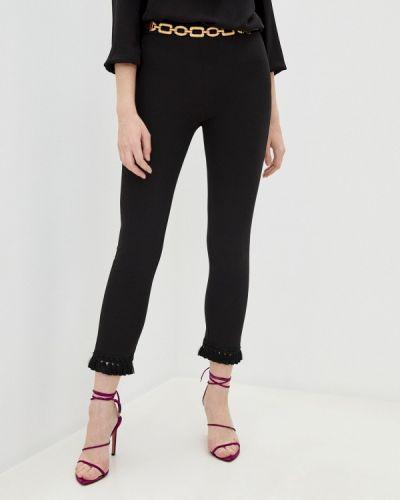 Повседневные черные брюки Blugirl Folies