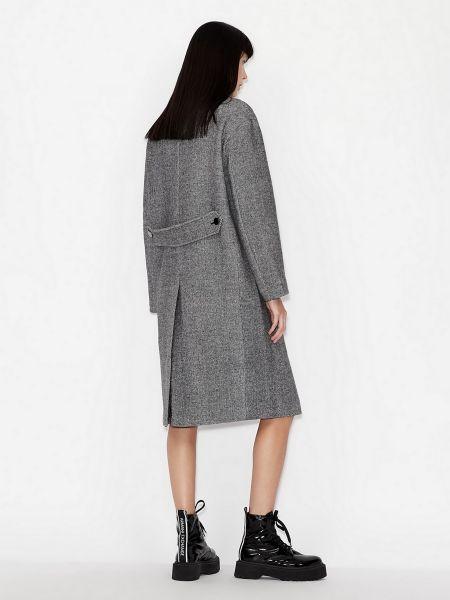 Пальто - серое Armani Exchange