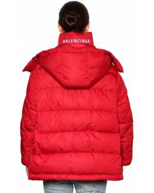Куртка оверсайз - красная Balenciaga